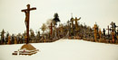 photos of the hill of crosses