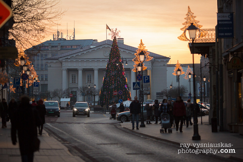 Kucios Day or Christmas Eve in Vilnius