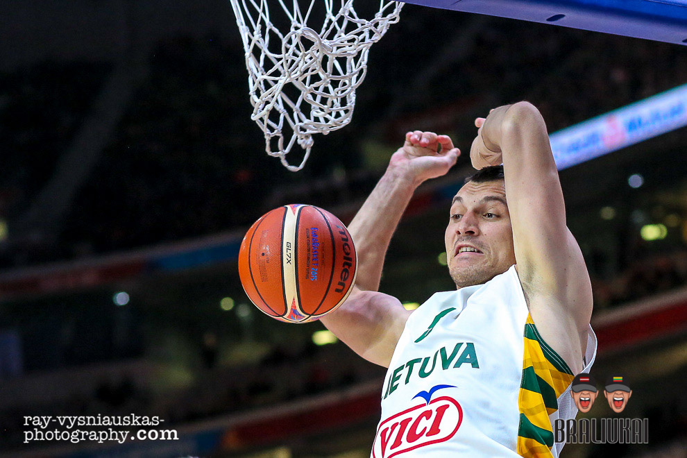 Lithuania v Czech Republic Eurobasket 2015 Riga