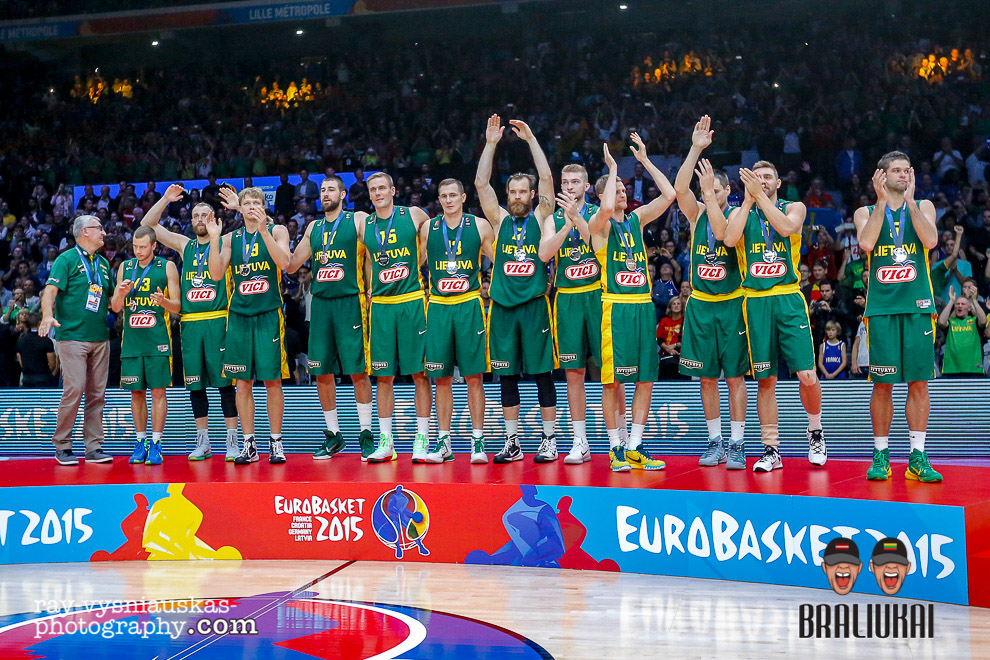 Lithuania v Spain Eurobasket 2015 Lille